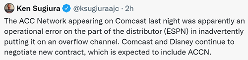 We All May Have Jumped The Gun On Comcast, ACCN