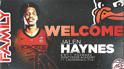 Hokies Add Size, Depth With Signing Of 6-8 Jalen Haynes