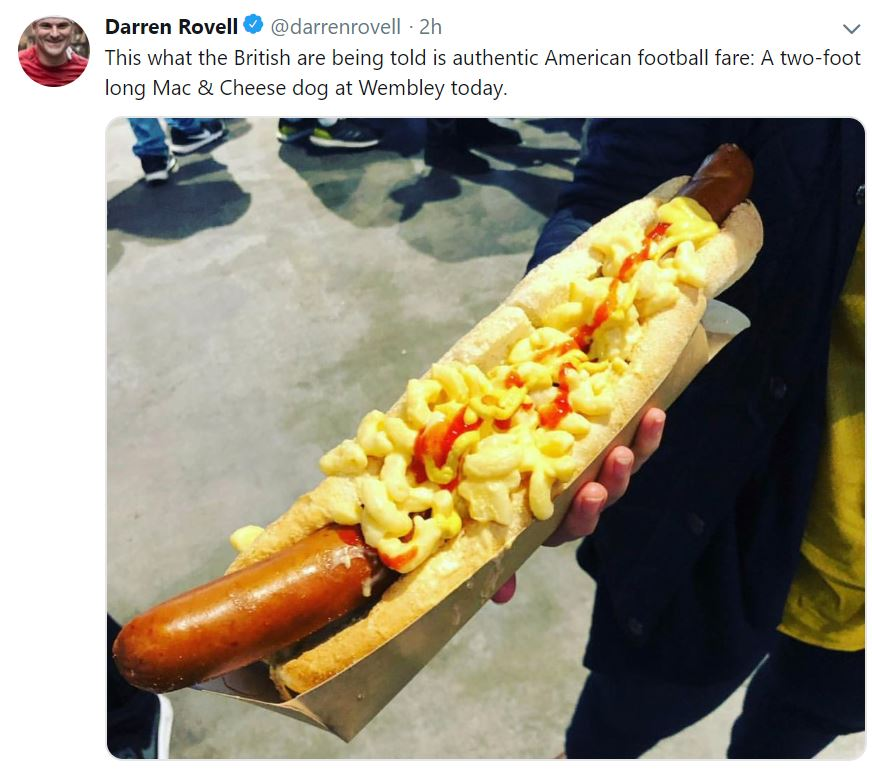 No, Brits, This Is Not What Americans Typically Eat At Football Games