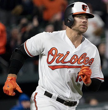 Thank you, Chris Davis, For All Of The Memories...