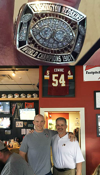 After A 31-Year Wait, Cowne Gets His Super Bowl Ring