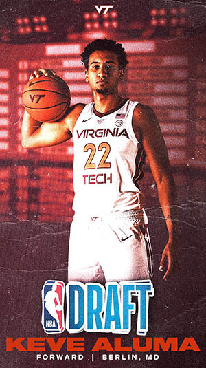 Virginia Tech's Aluma Testing The Waters With The NBA