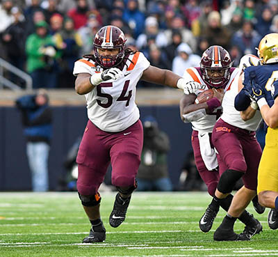 With Darrisaw Now Gone, Where Do Hokies Go From Here?