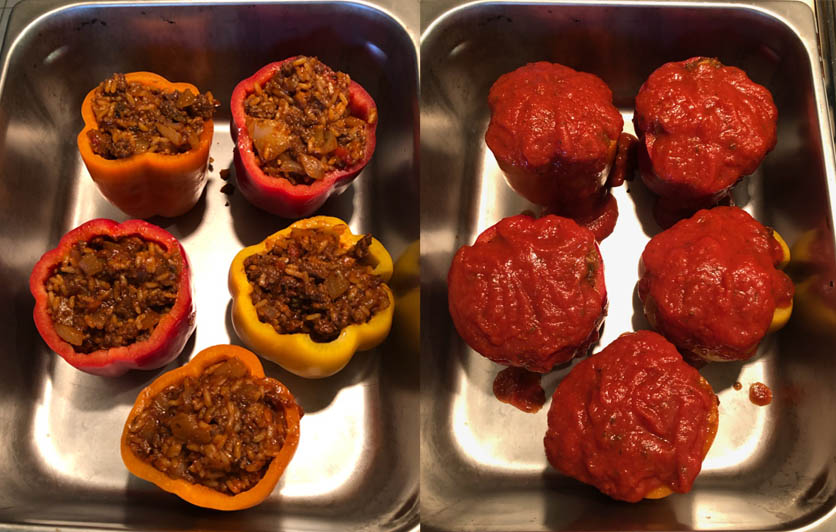 Stuffed Peppers: So Easy, Even YOU Can Make Them....