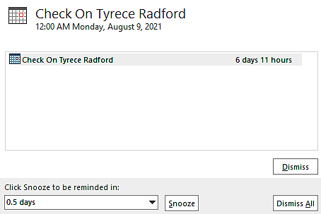 """This Is Why I Got A Reminder To """"Check On Tyrece Radford"""""""